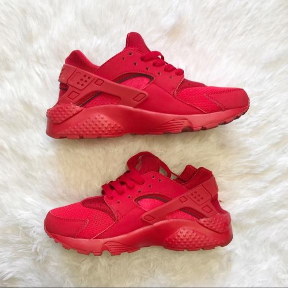 Nike Shoes | Nike Huarache Red Kids